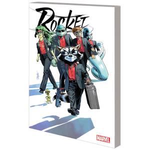 Marvel Comics Rocket Trade Paperback Vol 01 Blue River Score Graphic Novel