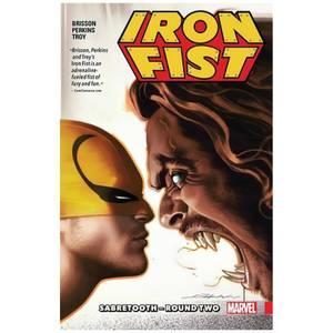 Marvel Comics Iron Fist Trade Paperback Vol 02 Sabretooth Round Two Graphic Novel
