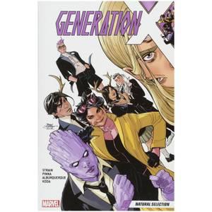 Marvel Comics Generation X Trade Paperback Vol 01 Natural Selection Graphic Novel