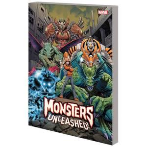 Marvel Comics Monsters Unleashed Trade Paperback Vol 01 Monster Mash Graphic Novel
