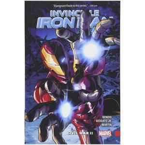 Marvel Comics Invincible Iron Man Trade Paperback Vol 03 Civil War Ii Graphic Novel