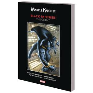 Marvel Comics Marvel Knights Black Panther By Priest & Texeira Trade Paperback Client Graphic Novel
