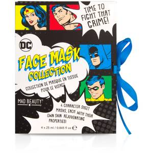Mad Beauty DC Comics Face Mask Collection