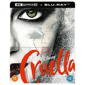Disney's Cruella - Zavvi Exclusive 4K Ultra HD Steelbook