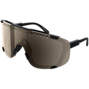 POC Devour Uranium Black/Brown/Silver Mirror Sunglasses