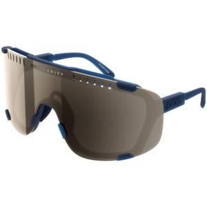 POC Devour Lead Blue/Brown/Silver Mirror Sunglasses