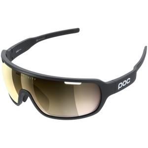 POC DO Blade Uranium Black/Violet/Gold Mirror Sunglasses