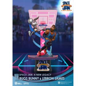 Beast Kingdom Space Jam: A New Legacy D-Stage PVC Diorama Bugs Bunny & Lebron James New Version 15 cm