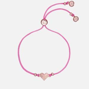 Ted Baker Women's Fillipe Faceted Heart Friendship Bracelet - Rose Gold/Pink