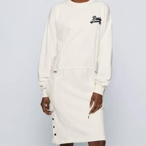 BOSS X Russell Athletic Women's Eyona Dress - Open White