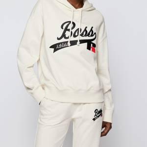 BOSS X Russell Athletic Women's Eraisy Hoodie - Open White
