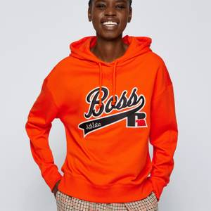 BOSS X Russell Athletic Women's Eraisy Hoodie - Bright Orange