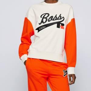 BOSS X Russell Athletic Women's Eraisa Sweatshirt - Open White