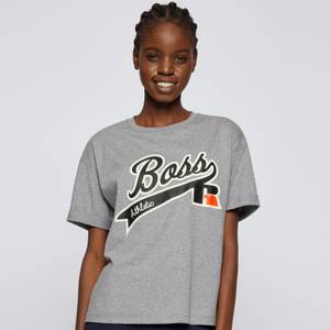 BOSS X Russell Athletic Women's Evarsy T-Shirt - Silver