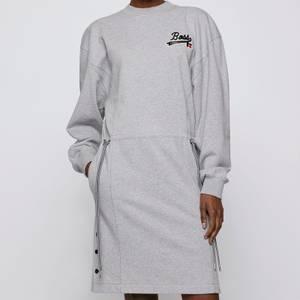 BOSS X Russell Athletic Women's Eyona Dress - Silver