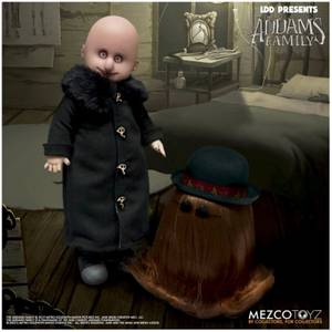 Mezco Living Dead Dolls Presents The Addams Family (2019) - Uncle Fester and It