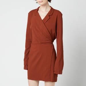 Free People Women's Helena Wrap Dress - Coconut Shell