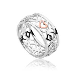 Affinity Heart Band Ring