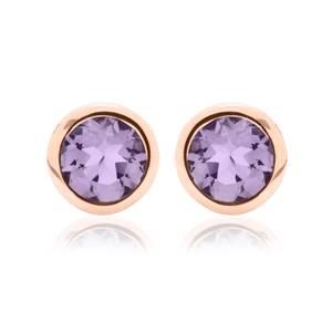 Amethyst February Birthstone Earrings