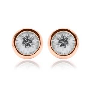 Zircon April Birthstone Earrings