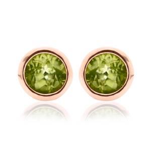 Peridot August Birthstone Earrings