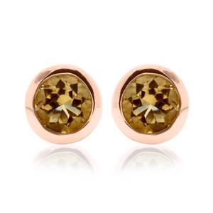 Citrine November Birthstone Earrings