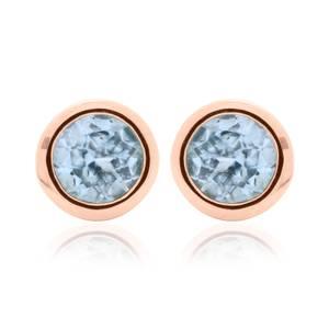 Topaz December Birthstone Earrings