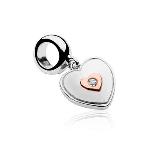 Cariad Heart Milestones Bead Charm