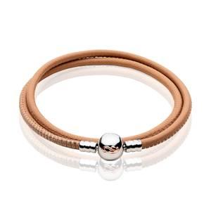 Tree of Life Cream Double Cord Bracelet