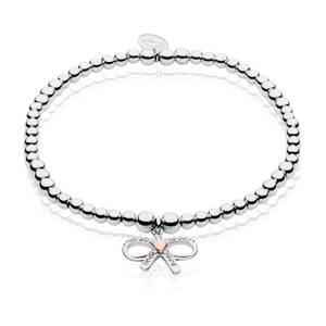 Tree of Life Bow Affinity Bead Bracelet 16.5-17.5cm