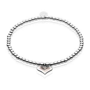 Always In My Heart Affinity Bead Bracelet 16.5-17.5cm