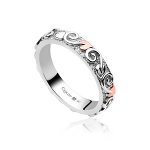 Tree of Life 4mm Band Ring
