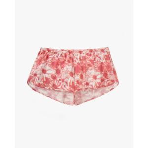 Hazy Daisy Pyjama Shorts Rust