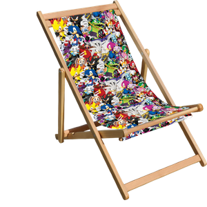 Decorsome x Sega Sonic Deck Chair
