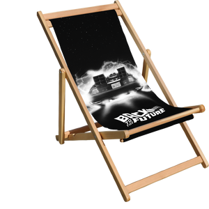 Back to the Future Deck Chair