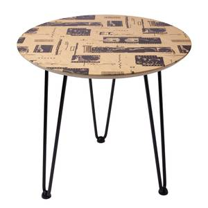 Decorsome x E.T. Wooden Side Table