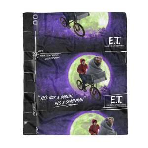 E.T. the Extra-Terrestrial Film Reel Fleece Blanket