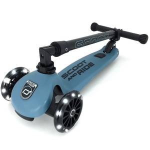 Scoot & Ride Highwaykick 3 LED - Steel