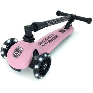 Scoot & Ride Highwaykick 3 LED - Rose