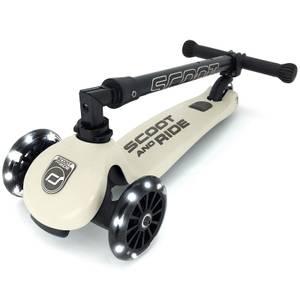 Scoot & Ride Highwaykick 3 LED - Ash