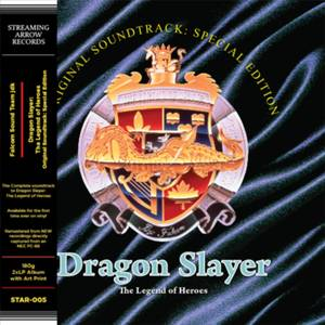 Dragon Slayer: The Legend of Heroes (Original Soundtrack) (Special Edition) 180g 2xLP (Gold)