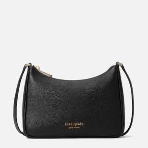 Kate Spade New York Women's Bradley Pebbled Leather Medium Cross Body Bag - Black