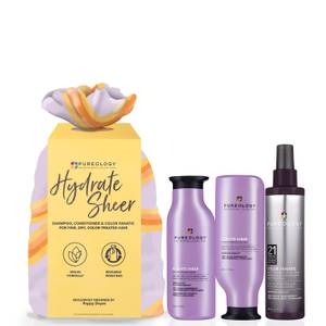 Pureology Hydrate Sheer and Colour Fanatic Set (Worth £72.35)