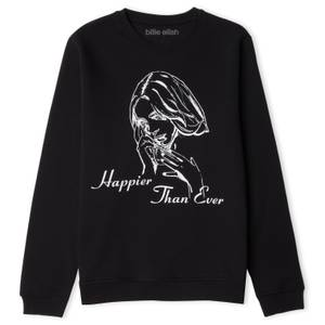 Billie Eilish Happier Than Ever Sweatshirt - Black