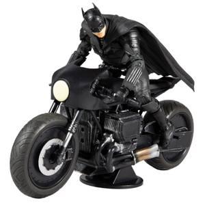 McFarlane DC Multiverse The Batman Vehicle - Batcycle