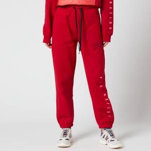 P.E Nation Women's Courtside Trackpants - Chilli Pepper Red