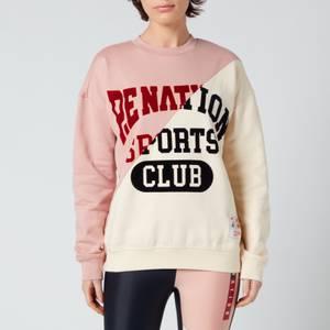 P.E Nation Women's Inning Sweatshirt - Misty Rose