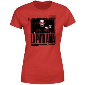 Money Heist The Boss Women's T-Shirt - Rood