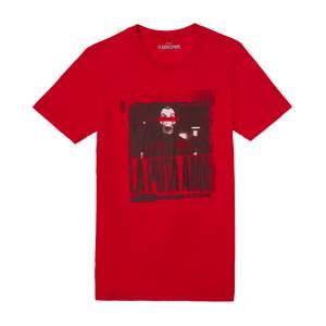 Money Heist The Boss Men's T-Shirt - Rood