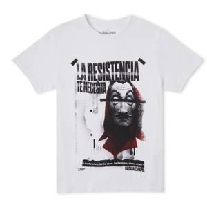 Money Heist The Resistance Needs You Men's T-Shirt - Wit